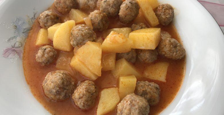 Patatesli Sulu Köfte
