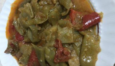 Yeşil Fasulye Yemeği