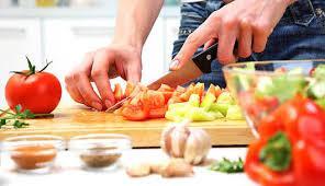 Yemekleri Hazırlarken