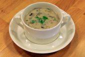 Kremalı Mantar Çorbası